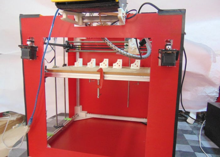 Xcustom3D 3D printer and CNC machine
