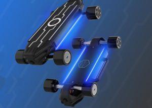 Zetazs mini electric skateboard