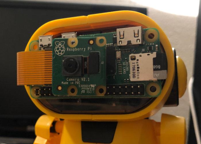 Zobbie Raspberry Pi Zero W hexapod robot-1