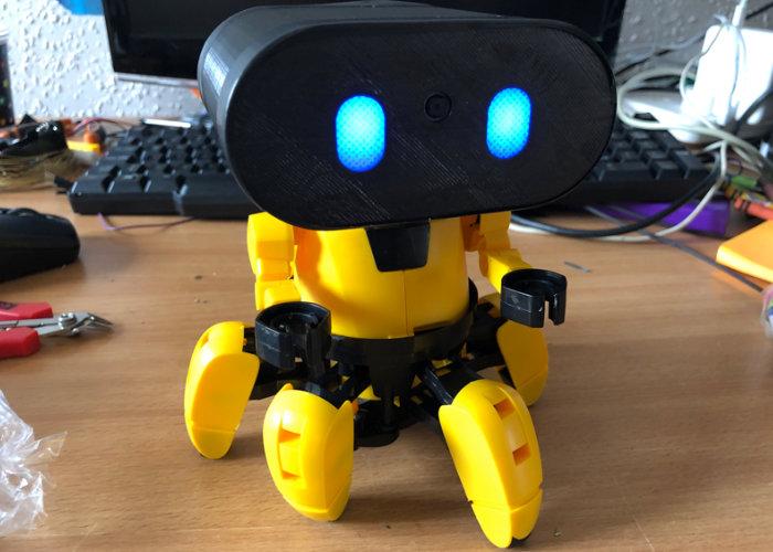Zobbie Raspberry Pi Zero W hexapod robot - Geeky Gadgets