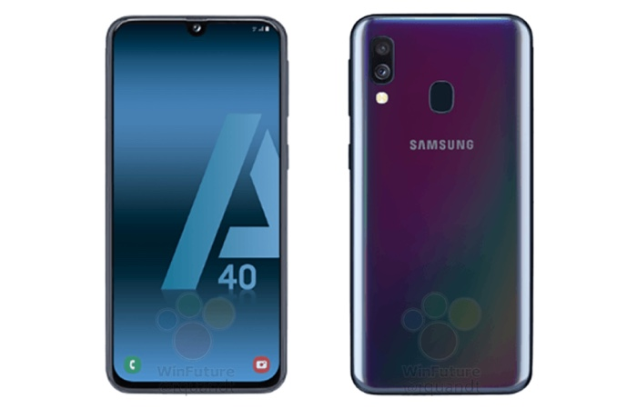 Samsung Galaxy A40 press photos leaked