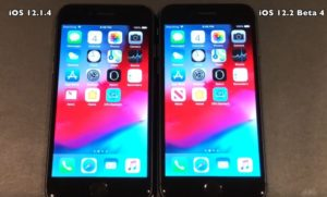 iOS 12.2 beta 4 vs iOS 12.1.4