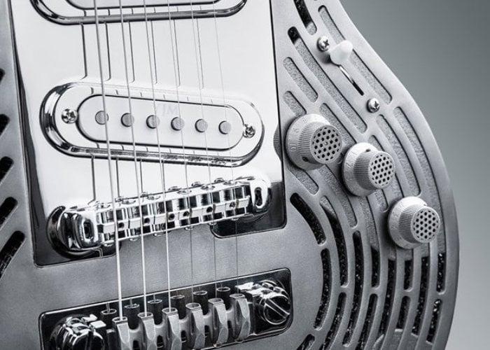 3D printed smash-proof guitar