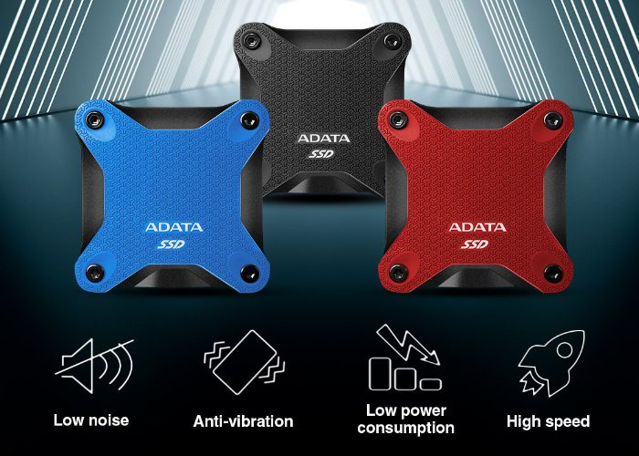 ADATA SD600Q 960GB compact, rugged, external solid state drive