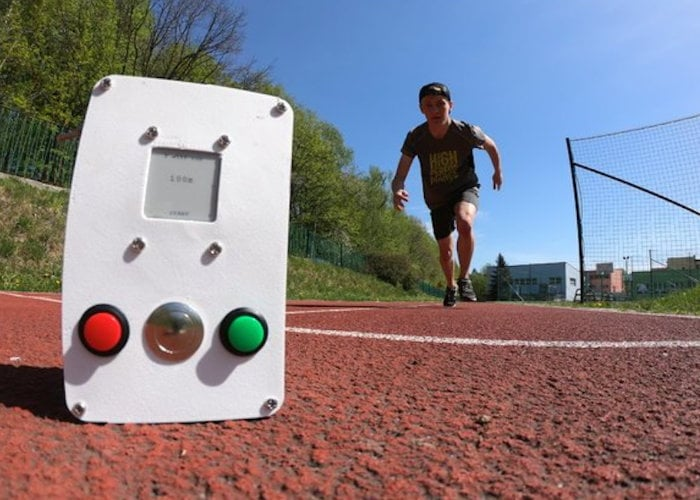 Arduino DIY ultrasonic sprint timer
