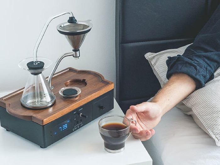 Barisieur Tea & Coffee Maker Alarm Clock