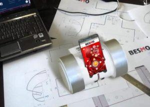 Besmo smartphone robot
