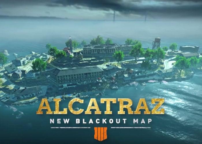 Black Ops 4 Alcatraz Map