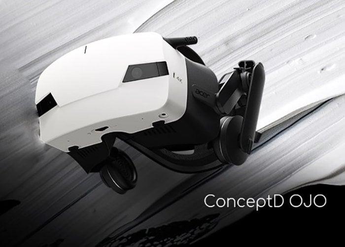 ConceptD OJO VR headset