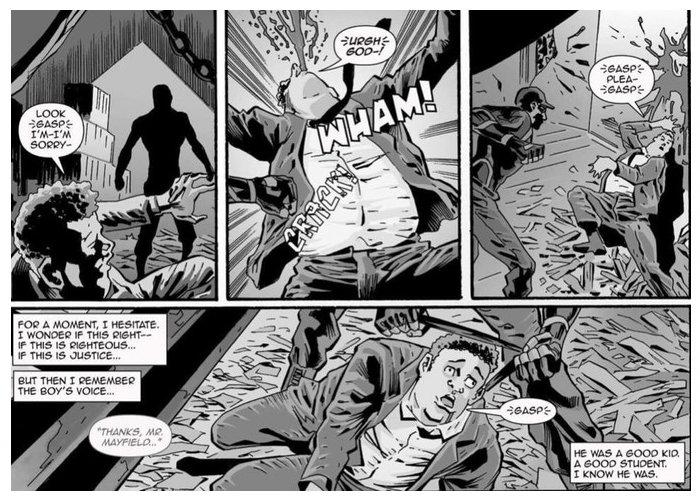 Cornrows urban fantasy comic book series