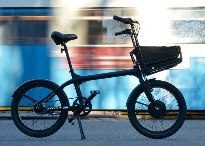 Elbi electric bike designed for convenient city living