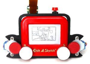 Etch A Sketch camera
