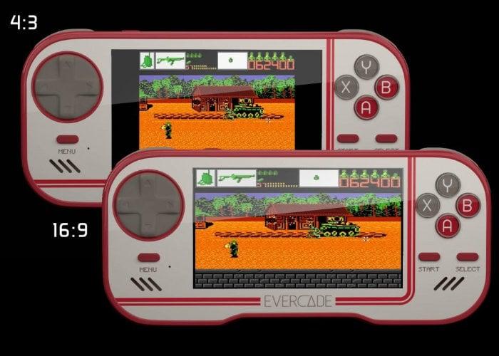 Evercade retro handheld game console