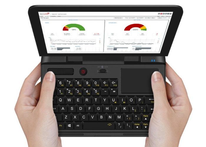 GPD MicroPC mini laptop