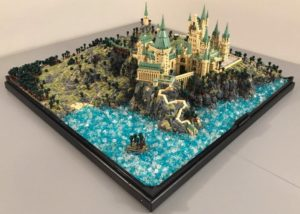 LEGO Hogwarts constructed from over 75,000 bricks