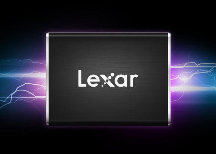 Lexar 1TB Professional SL100 Pro portable SSD