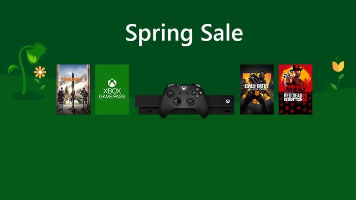 Microsoft Xbox Spring Sales