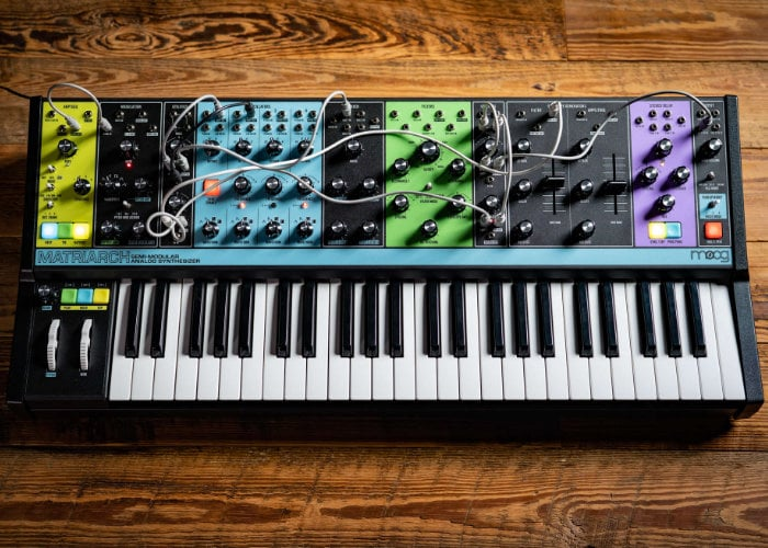Moog Matriarch analog synth