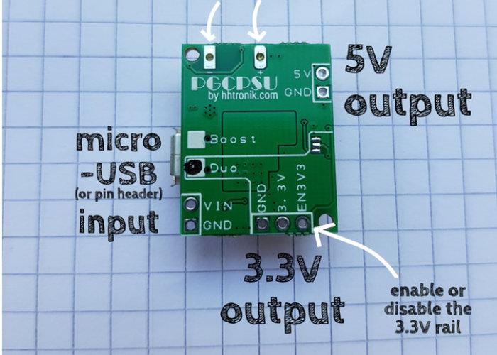 PGCPSU LiPo PSU module