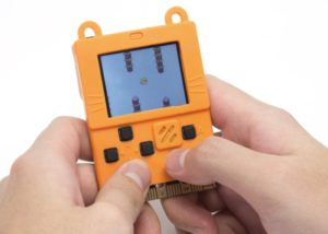 Programmable pocket games console