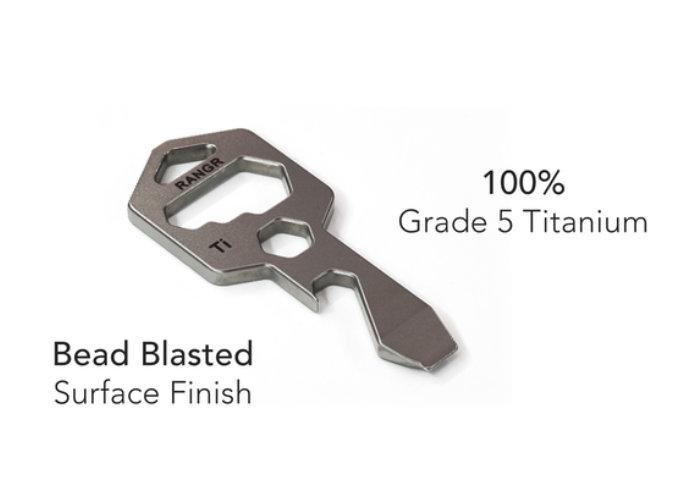 RANGR titanium EDC multitool