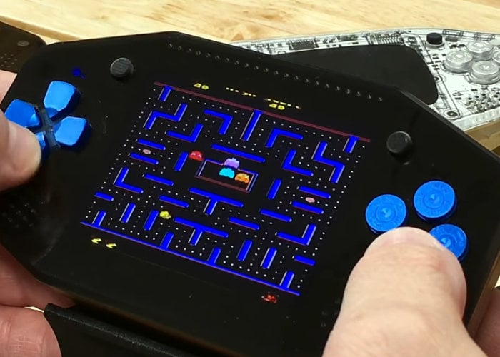 Raspberry Pi handheld gaming console