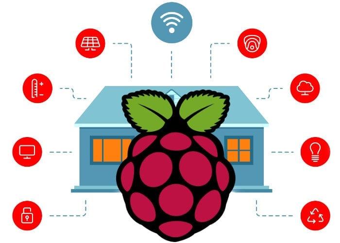 Raspberry Pi home automation system