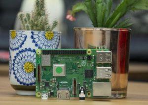 Raspberry Pi plant monitoring system