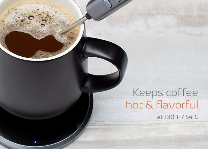 Self warming mug