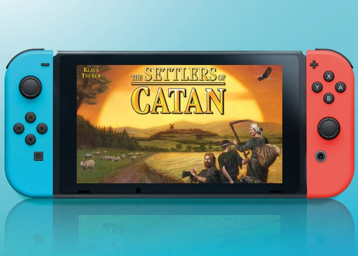 Settlers of Catan lands on Nintendo Switch