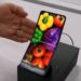 Sharp 6.18 inch foldable AMOLED display