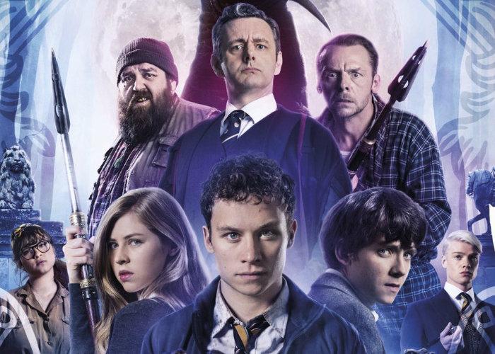 Slaughterhouse Rulez horror comedy starring Simon Pegg