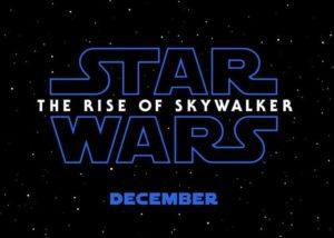 Star Wars The Rise of Skywalker Episode 9