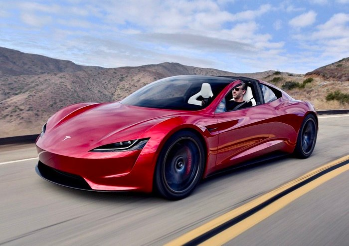 It looks like the Tesla Roadster will be very fast (Video)