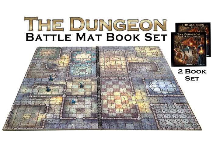 The Dungeon Battle mat books