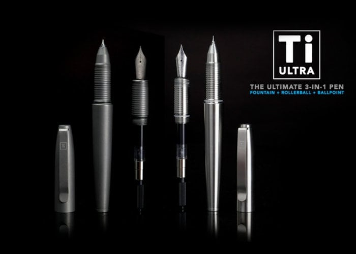 Ti Ultra 3-in-1 Titanium pen