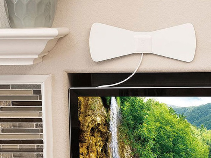 ANTOP Paper Thin 30-Mile AT-105 Indoor HDTV Antenna, save 51%