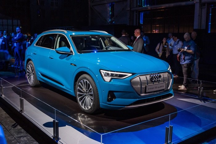 2019 Audi e-tron lands in the US next month