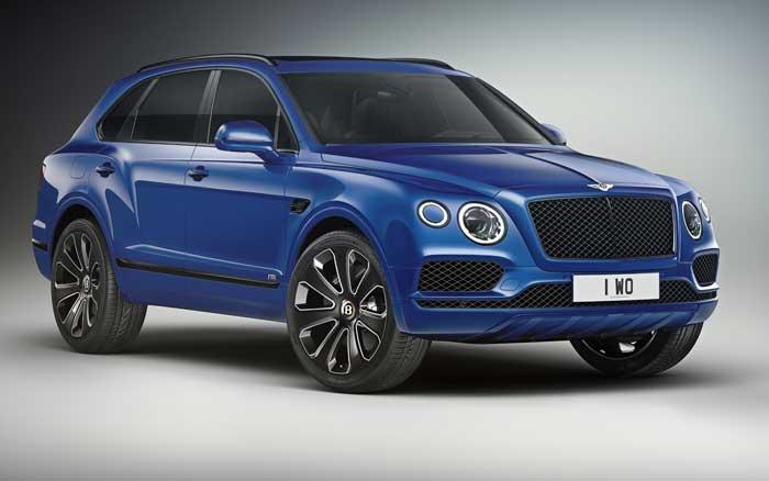 Fancy Bentley Bentayga Design Series Debuts