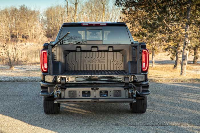 GMC's Slick Denali Truck CarbonPro Bed Lands in June