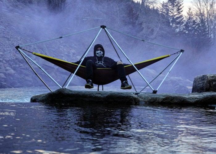 Hang Solo hammock stand hits Kickstarter