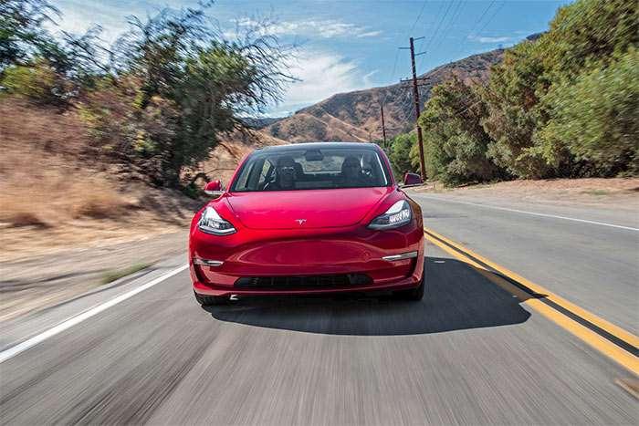 The Most Affordable Tesla Model 3 Costs $53,700 Online