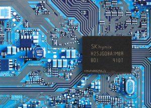 4D QLC NAND flash memory