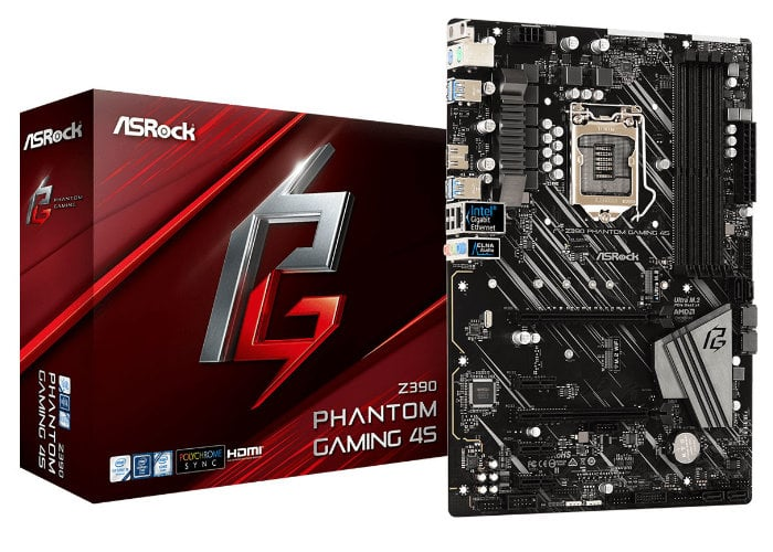 ASRock Z390 Phantom Gaming 4S motherboard