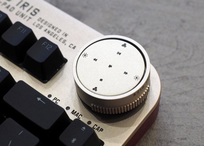 AZIO Iris keyboard