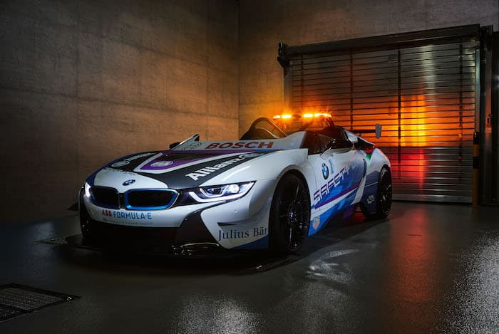 BMW i8 Roadster is the new Formula E safety car