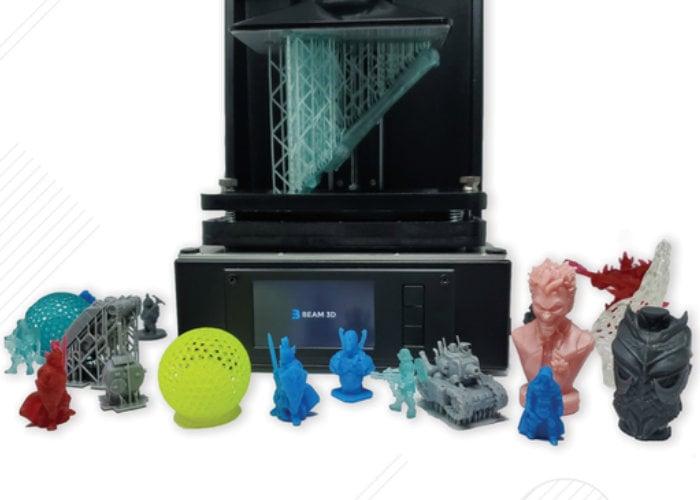 Beam3D Prism desktop UV Resin 3D printer from $199