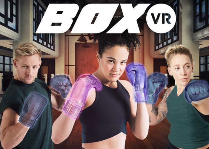 PlayStation VR fitness game BoxVR now available