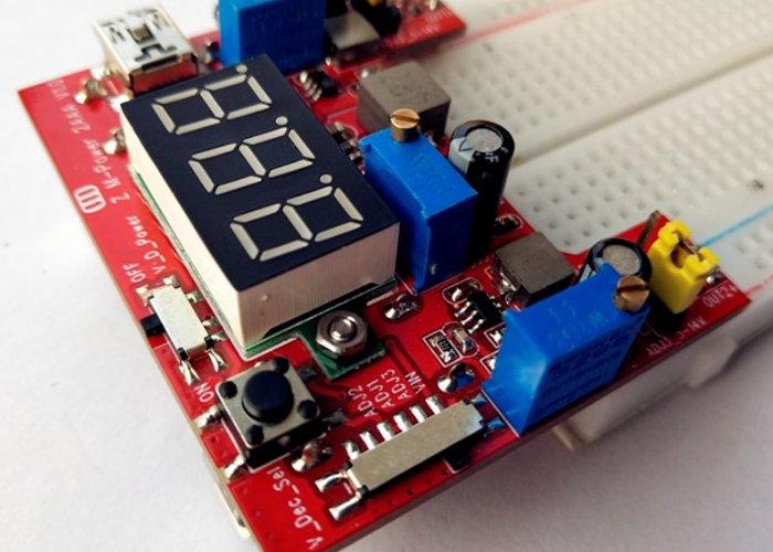 Bread board power battery Zero Multi-Power Supply