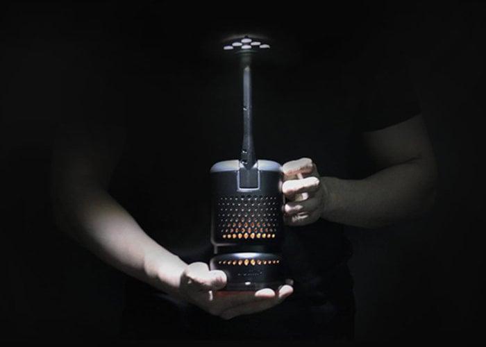 Lumix cooking oil powered camping lantern